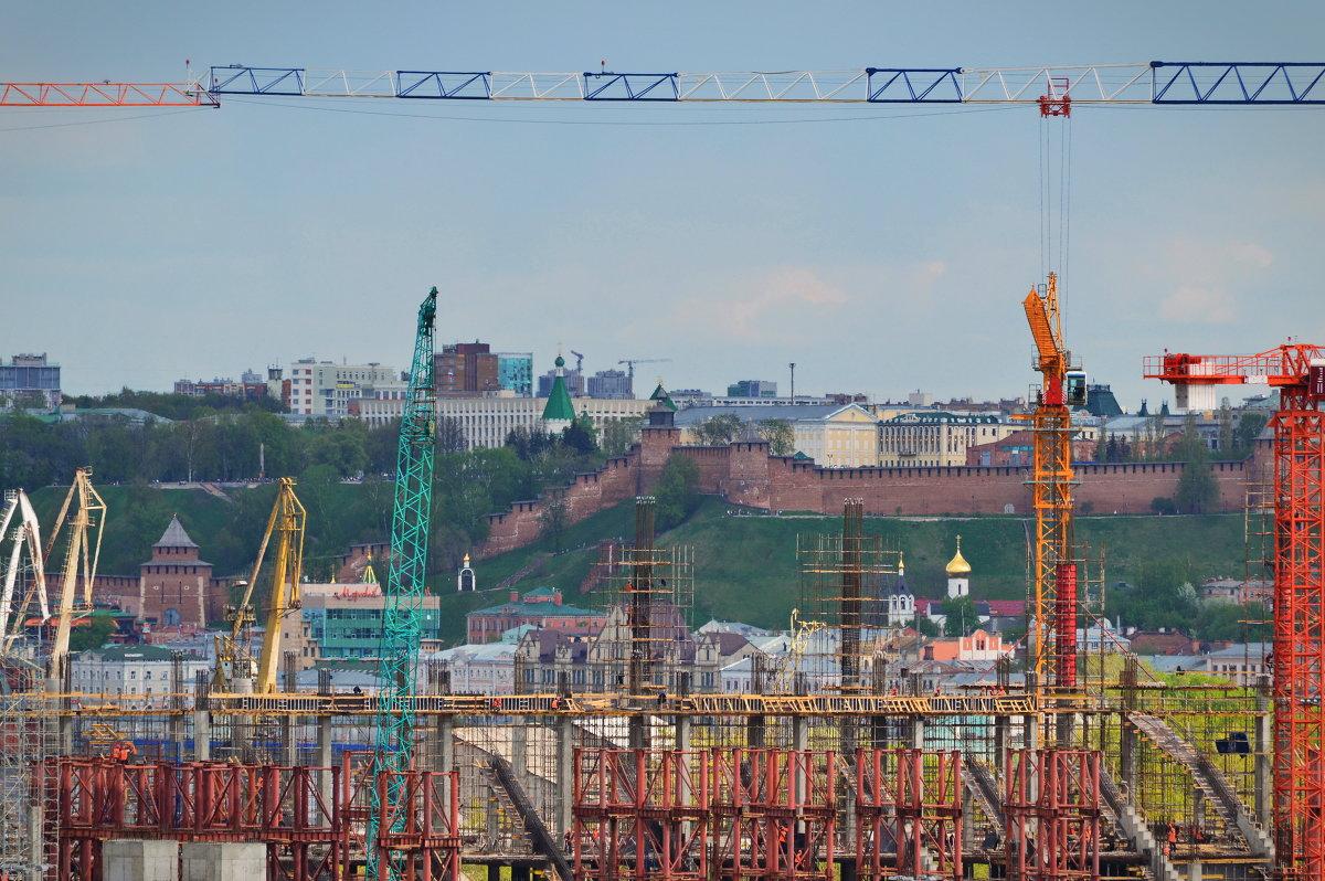 Стройка в Новгороде - Геннадий Слезнев
