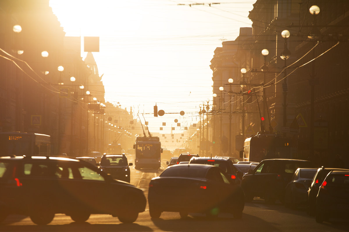 Утро в северной столице. - Frol Polevoy