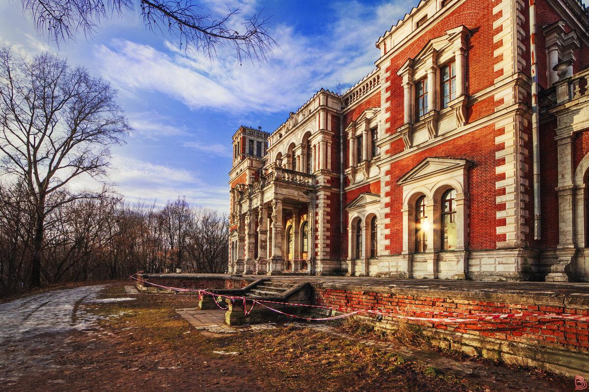 Утро в усадьбе Быково (январь, 2018) - Валерий Вождаев