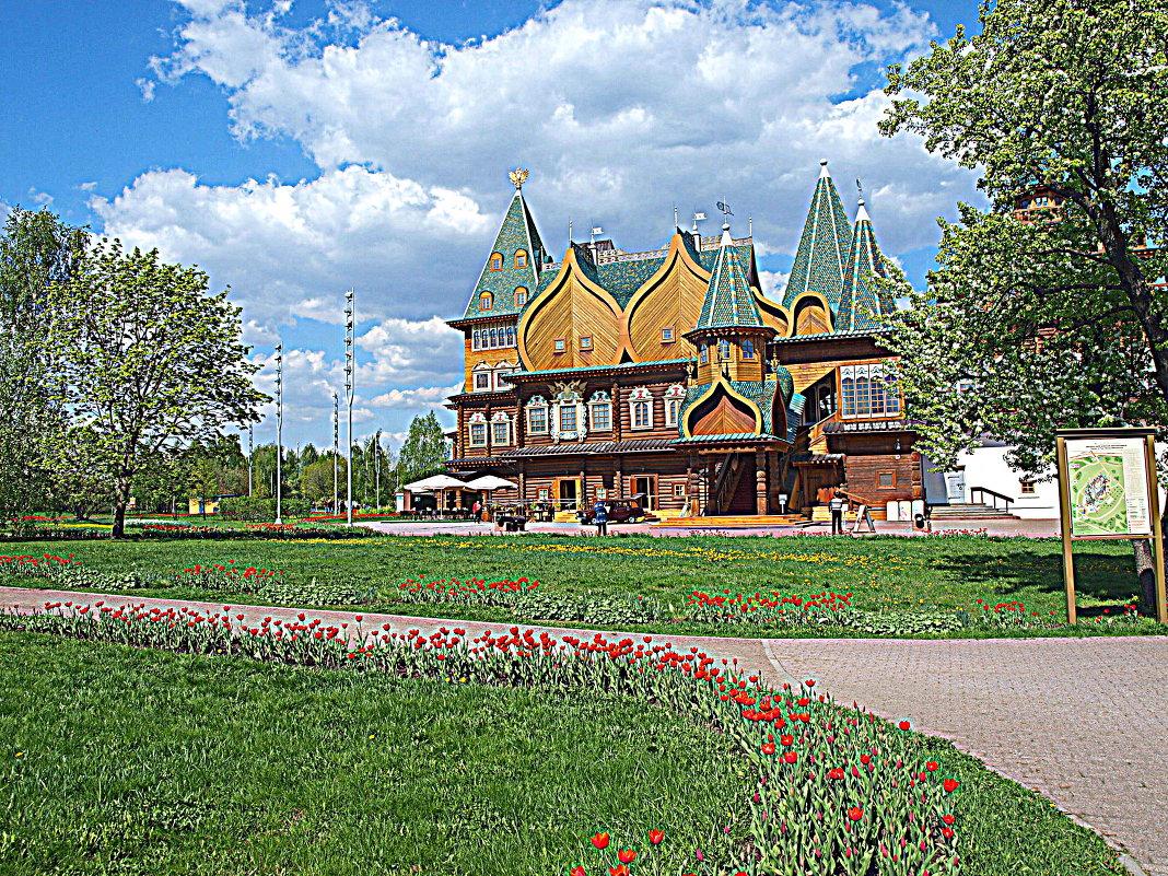 Дворец Алексея Михайловича в парке Коломенском. - Владимир Драгунский