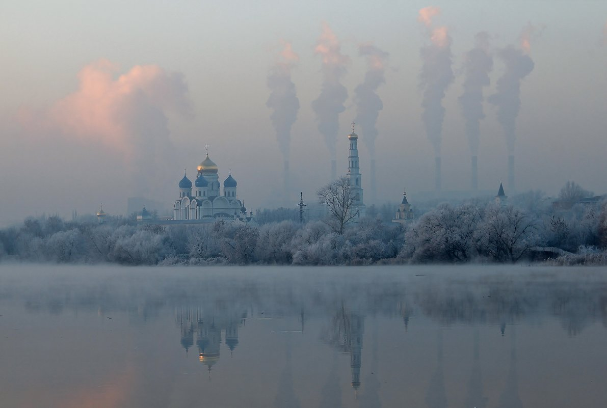 Морозный день в Угреше - Евгений (bugay) Суетинов