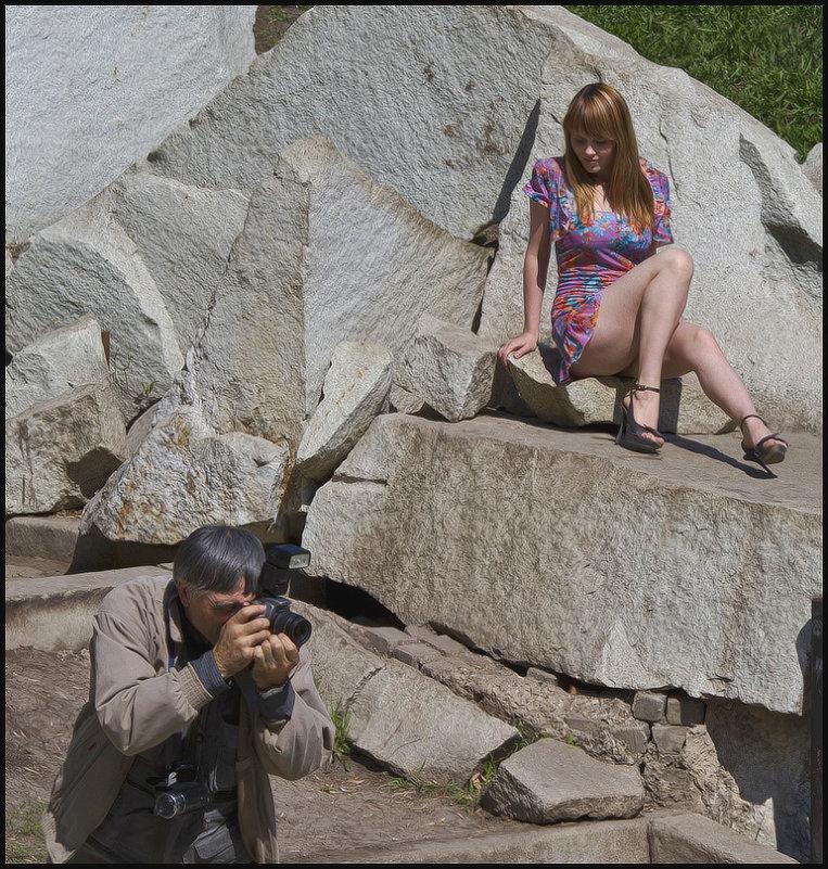 Эх,дядя,не то фотографируешь... - Алексей Патлах