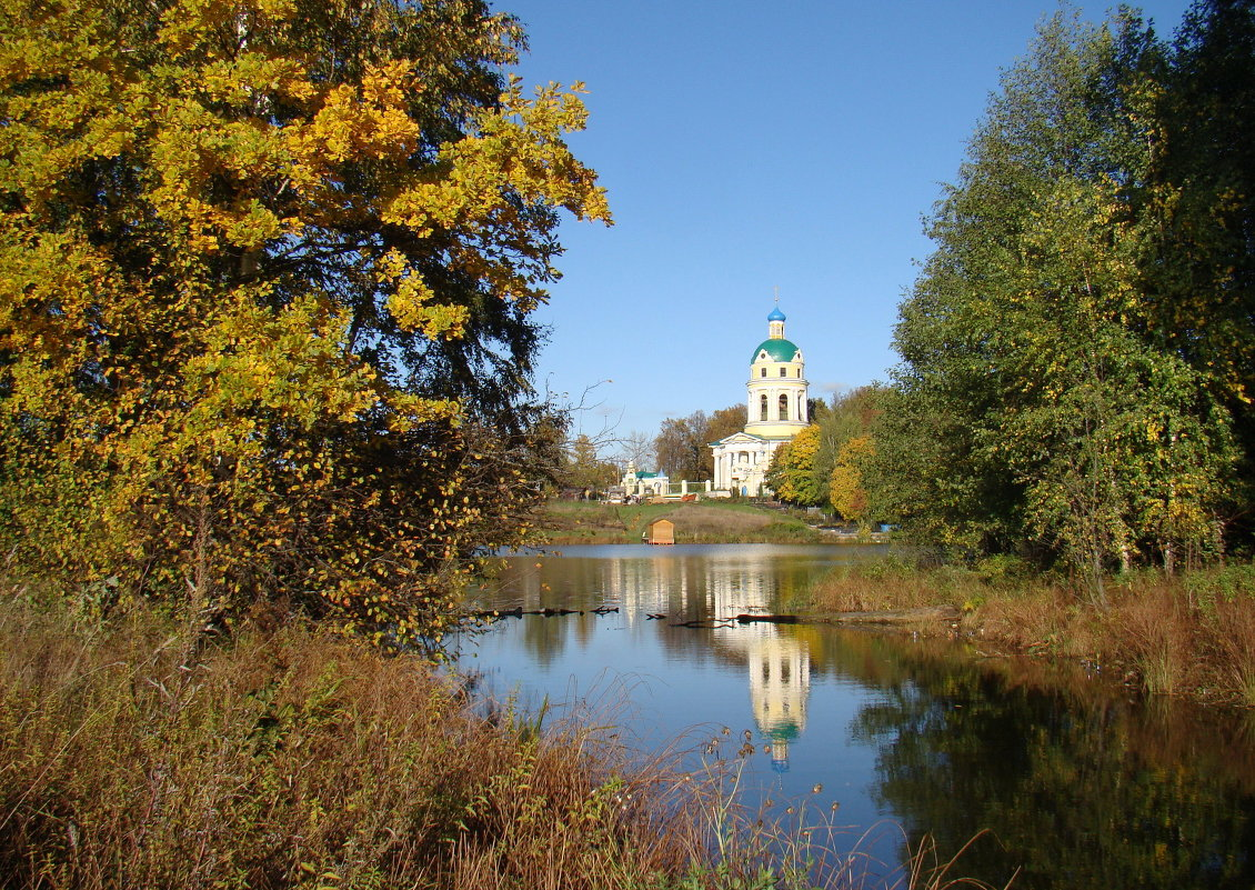 Осень на Барских прудах - Татьяна Георгиевна