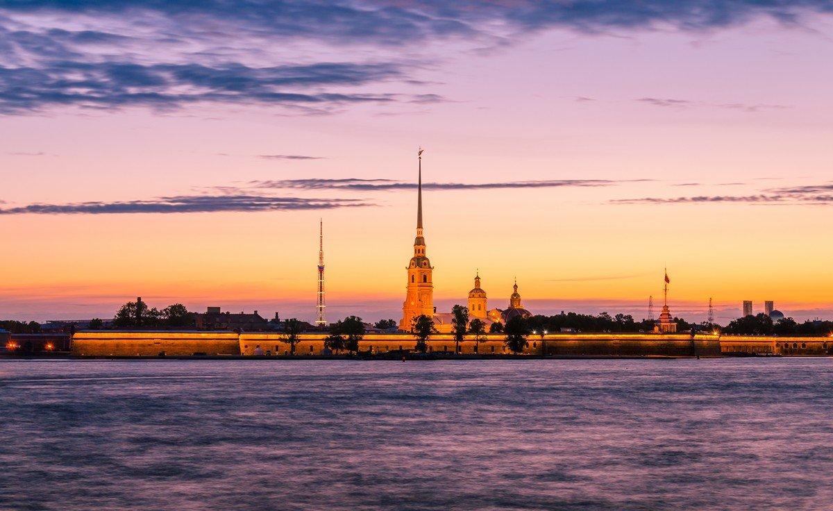 Белая ночь в Питере. - Григорий Евдокимов