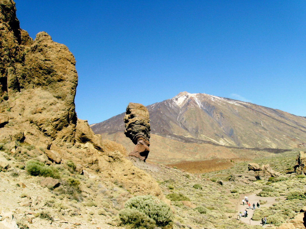 Вид на вулкан Тейде. - Лия ☼