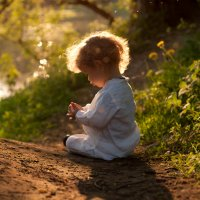 Считать лучики уходящего солнца :: Aleksandra Rastene