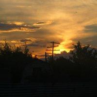 Оранжевое небо :: Дарья