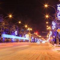 ночной проспект :: Олег Петрушин