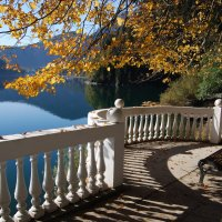 Озеро Рица. Осень :: Нелли *