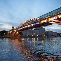 Старый мост, новый свет :: Valeriy(Валерий) Сергиенко