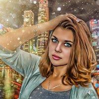 цифровой портрет :: Ксения