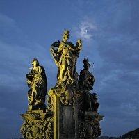 На Карловом мосту в Праге :: Елена Гуляева (mashagulena)