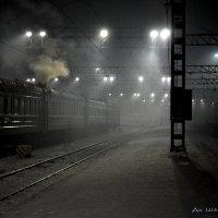 Ночь на платформе :: Татьяна Карканица
