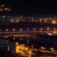Ночной мост через р.Ингода в г.Чите. :: Александр Киргизов
