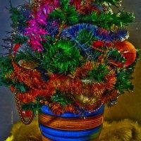 новогодняя ёлочка в горшочке :: Роза Бара