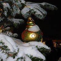 Новогодний снег :: Дмитрий Моркин