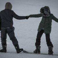 танец на сноуборде :: Игорь Карась