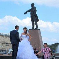 Свадебная фотосессия под присмотром вождя :: Елена Гуляева (mashagulena)