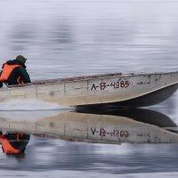Зеркало на реке Лена :: Александр Велигура