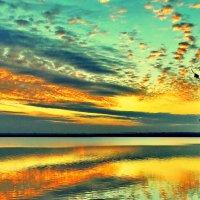 Вечер на озере. :: Vladimir Lisunov