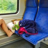 Первая поездка в поезде :: Евгений Кривошеев