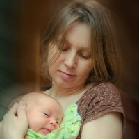 мама и младенец :: Вячеслав Дроздов