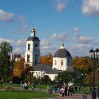 Осень в Царицыно. :: Владимир Драгунский