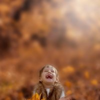 Осень – рыжая девчонка :: Оксана