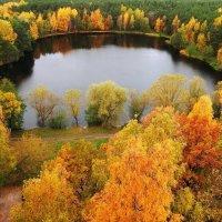 Осеннее озеро :: Александр Михайлов