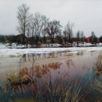 Сельский пейзаж :: Денис Матвеев