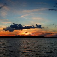 Закат на на озере :: Маргарита