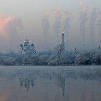 Морозный день в Угреше :: Евгений (bugay) Суетинов