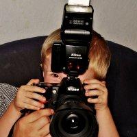 """Внук  Юлиан , """"юный  фотограф """" :: backareva.irina Бакарева"""