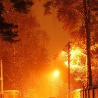 Ночь, улица, фонарь, машина... :: Леонид leo