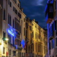 Ночная Венеция. Фотография 3. :: Иван Степанов