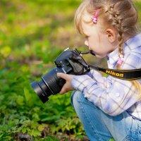 природа  глазами ребенка :: Катерина Терновая