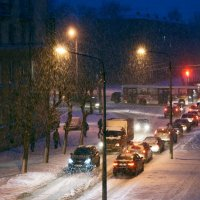 Снег :: Кулага Андрей Андреевич