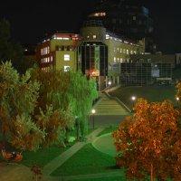 Вечер на Праволыбедском бульваре :: Александр Буянов