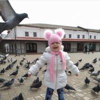 Как много птиц! :: Людмила Павловна Крышковец