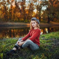 Аксинья. Осень :: Кира Пустовалова - Степанова