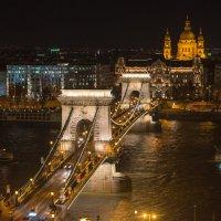 Будапешт, цепной мост :: Владимир Брагилевский