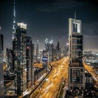 Ночной Дубай :: Евгений Бубнов