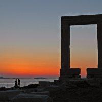 Греческий закат. :: Борис Бутцев