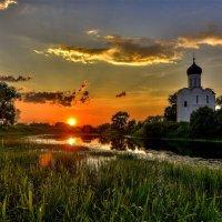 Закат на Нерли.. :: АЛЕКСАНДР СУВОРОВ
