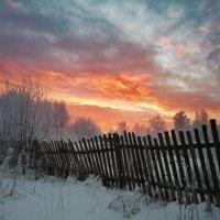 Зимний закат :: Александр Мантров