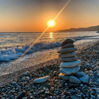 Камни на закате :: Светлана