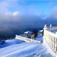 Мороз и солнце! Исток Ангары :: Татьяна Селина