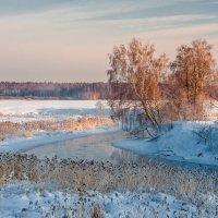 На зимней реке Клязьме :: Валерий Иванович