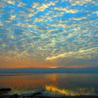 Рассвет. Мертвое море. :: Гала