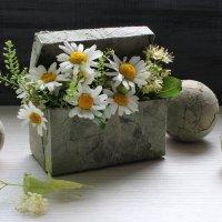 Коробочка ромашек. :: Нина Сироткина